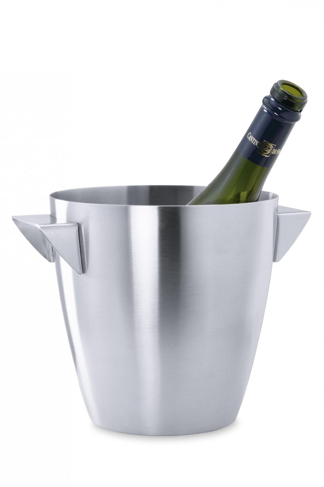 edelstahl champagnerk hler sektk hler weink hler von zack 20457 hersteller zack wohnen. Black Bedroom Furniture Sets. Home Design Ideas