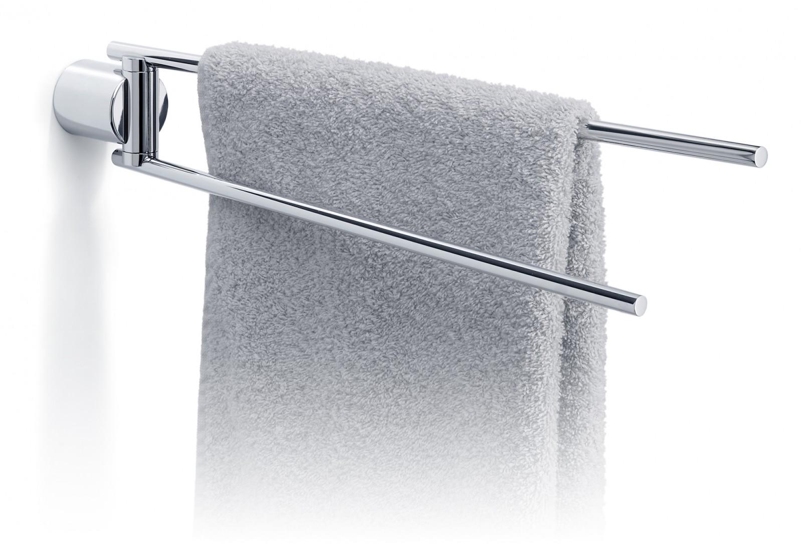 BLOMUS Edelstahl Handtuchhalter Handtuchstange poliert