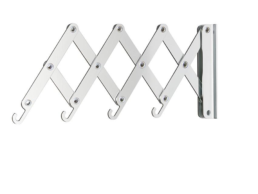 pieperconcept garderobe flexxo wandgarderobe aluminium. Black Bedroom Furniture Sets. Home Design Ideas