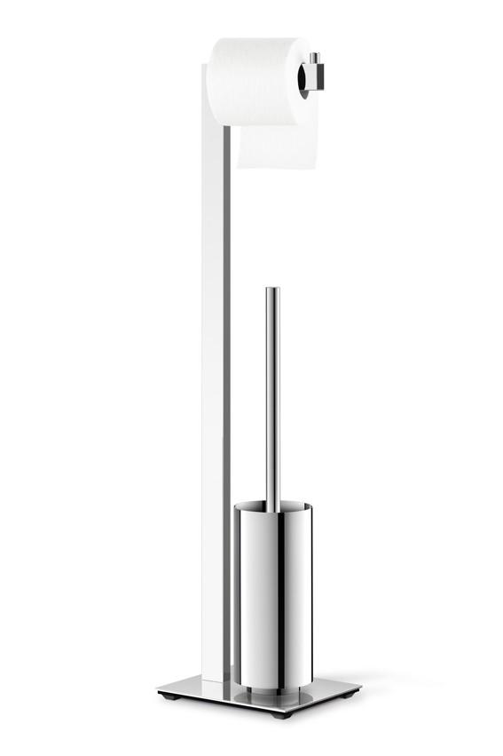 zack edelstahl toilettenbutler set linea hochgl nzend toilettengarnitur wc garnitur 40027 bad. Black Bedroom Furniture Sets. Home Design Ideas