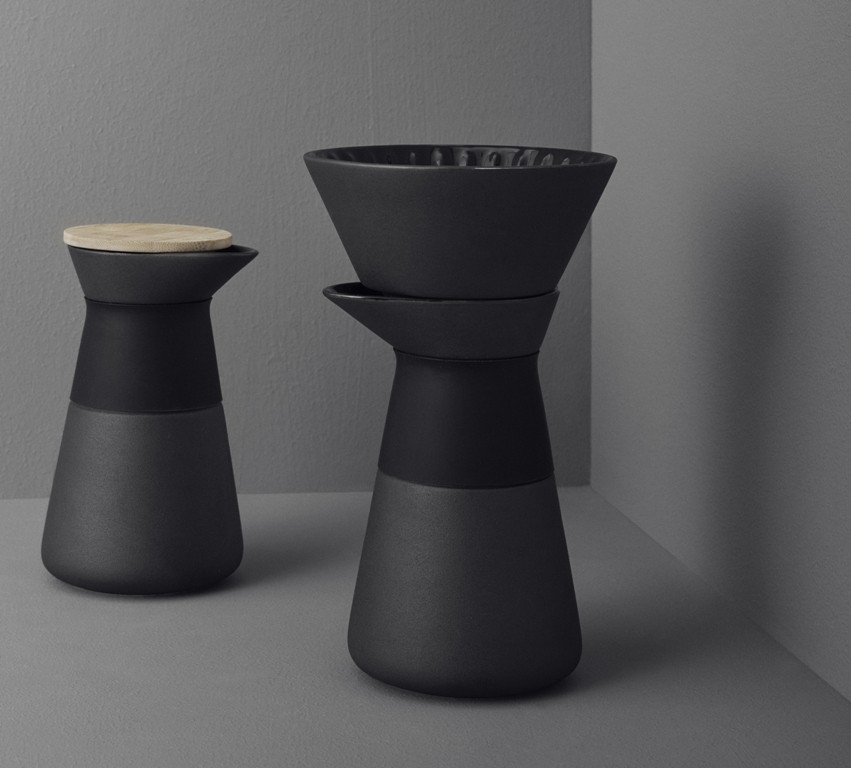 stelton kaffeefilterkanne theo kaffeebereiter schwarz x 634 k che sonstige k chenaccessoires. Black Bedroom Furniture Sets. Home Design Ideas