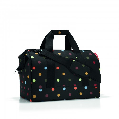 reisenthel allrounder l reisetasche tasche dots punkte. Black Bedroom Furniture Sets. Home Design Ideas
