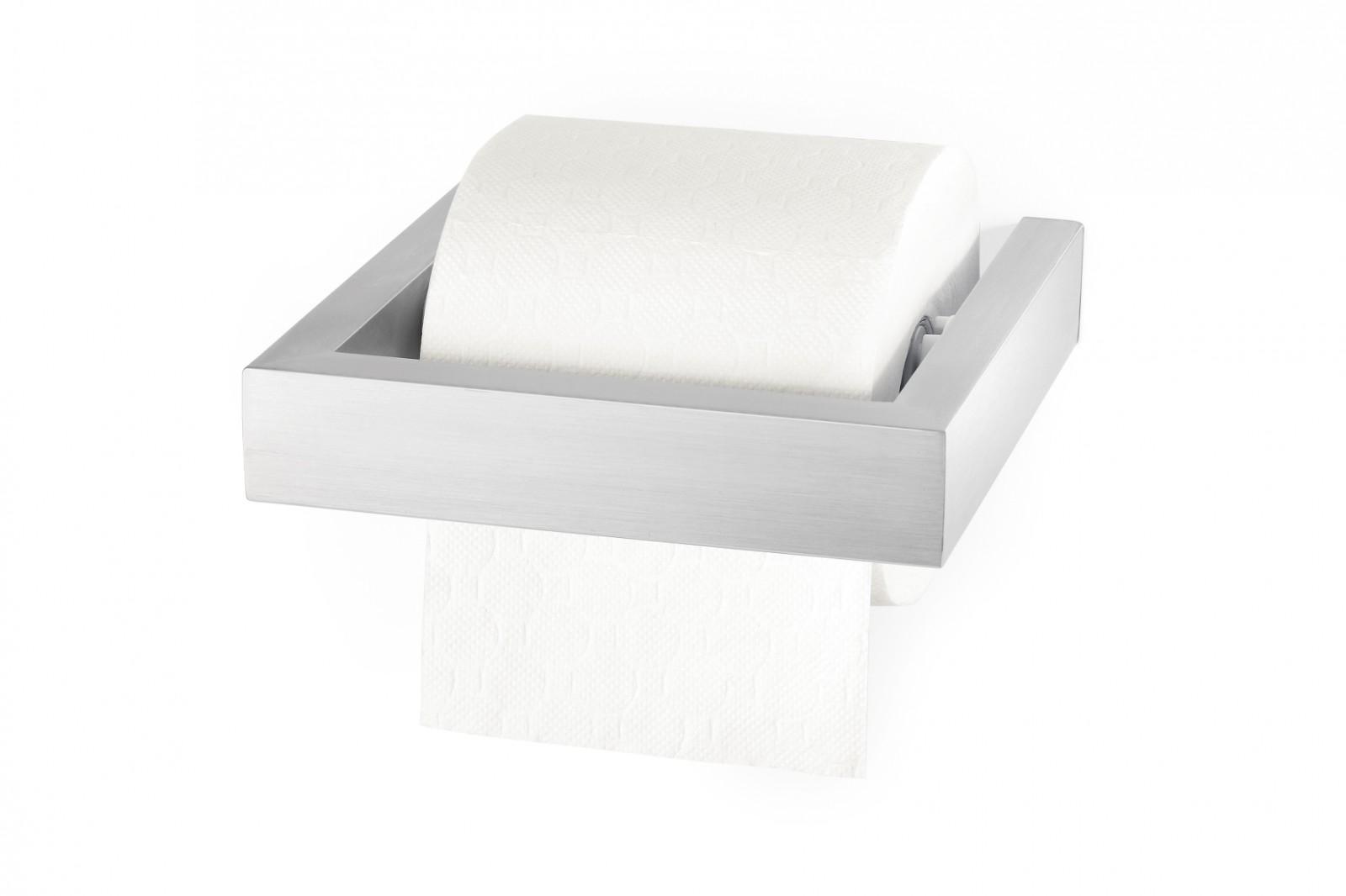 edelstahl toilettenpapierhalter linea wc rollenhalter zack 40386 bad bad edelstahl wc b rsten wc. Black Bedroom Furniture Sets. Home Design Ideas