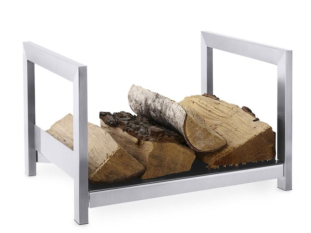 edelstahl holzlege kaminholzablage kaminzubeh r zack 50011 wohnen kaminzubeh r. Black Bedroom Furniture Sets. Home Design Ideas