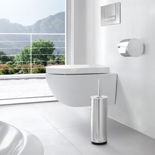 blomus edelstahl toilettenb rste sento wc b rste poliert. Black Bedroom Furniture Sets. Home Design Ideas